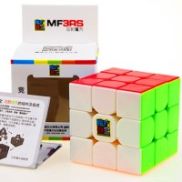 Cuberspeed Moyu Mofang Jiaoshi Mf3Rs Stickerless Bright 3X3X3 Magic Cube Cubing Classroom Mf3Rs 3X3