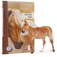Breyer Little Prince Shetland Pony Horse Story Book and Model Set