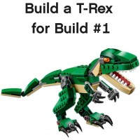 Lego Creator Mighty Dinosaurs 31058 Build It Yourself Dinosaur Set Create A Pterodactyl Triceratop