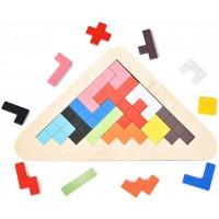 Wooden Tetris Tangram Montessoritoys Tangrams With Stem Toys For 1 2 3 4 5 s Lntelligence