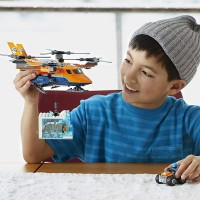 Lego City Arctic Air Transport 60193 Building Kit 277 Pieces