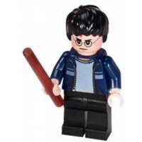 Lego Harry Potter Blue Jacket With Wand