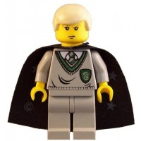 Lego Draco Malfoy Slytherin Torso Yf 2 Harry Potter
