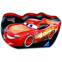 Ravensburger Disney Cars 3 Lets Go In A Cars Shaped Box 100 Piece Jigsaw Puzzle Every Piece Is