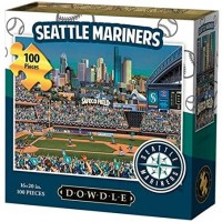 Dowdle Folk Art Seattle Mariners Jigsaw Puzzle 100