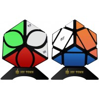 Joytown Speed Cube Set Of 2 Mofangge Ivy Cube Puzzle And Qiqi Skewb Cube Twisty Puzzle Smooth 3X3