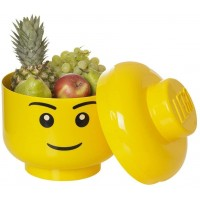 Lego Multiuse Stackable Storage Head Small Boy