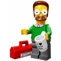 Lego 71005 The Simpson Series Ned Flanders Simpson Character