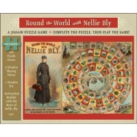 Round The World With Nellie Bly A 300 Piece Jigsaw Puzzle