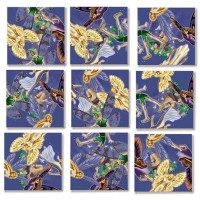 B Dazzle Fairies Scramble Squares 9 Piece