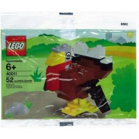 Lego Seasonal Exclusive Mini Figure Set 40011 Turkey