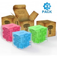 Thinkmax Money Maze Puzzle Box Puzzle Money Holder Gift Box Unique Way To Give Birthday Or