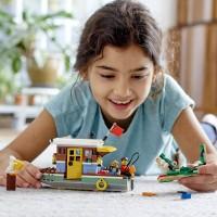 Lego Creator 3In1 Riverside Houseboat 31093 Building Kit 396