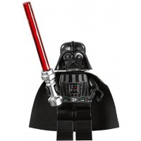 Lego Star Wars Darth Vader Minifigure With Lightsaber Imperial Inspection