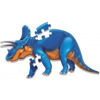 Learning Resources Jumbo Dinosaur Floor Puzzle Triceratops 20 Safe Foam Pieces Ages