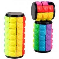 3 Pcs 3D Puzzle Decompression Fingertip Cube Diy Cylinder Puzzle Intelligence Cube Stress Relieve