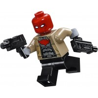 Lego Dc Comics Super Heroes Minifigure Red Hood With Dual Pistols