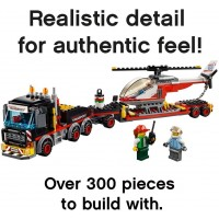 Lego City Heavy Cargo Transport 60183 Building Kit 310 Pieces