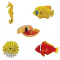 Artkal Assorted 4Pcsset Of Ukenn 2Nd Generation 3D Coral Fish Puzzles Diy Butterfly Fishball