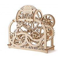 Theater Ugears Mechanical Wooden Model Selfassembling Brainteaser Teens And