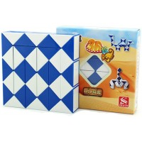 Hjxd Globle Magic Snake Twist Puzzle Twisty Toy Collection 36 Wedges Magic Ruler
