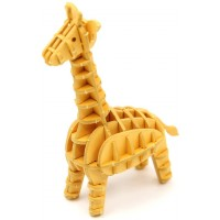 Magnote Jigzle Giraffe Paper 3D Puzzle Laser Cut Miniature Animal Craft Kit Birthday Gift And Party