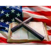 Wooden Jigsaw Puzzle 1000 Pcs American Flag And Bible Large Size 1000 Pieces Of Wooden PuzzleUnique