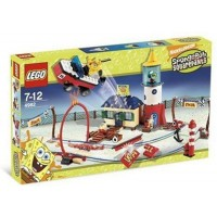 Lego Spongebob Squarepants 4982 Mrs Puffs Boating School
