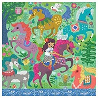 Majestic Horses 42 Piece Cube