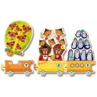 Djeco Preschool Counting Train Puzzle 20