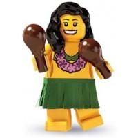 Lego Minifigure Collection Series 3 Loose Mini Figure Hula