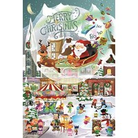 A Christmas Village For All Ages Family 625 Piece Jigsaw Puzzle By