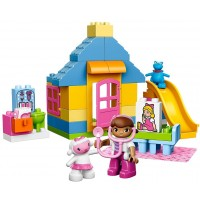 Lego Duplo L Disney Doc Mcstuffins Backyard Clinic 10606 Learning Toy For Toddlers Large Building