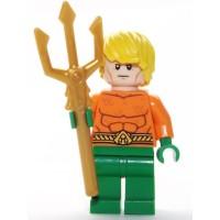 Lego Dc Comics Super Heroes Minfigure Aquaman With Trident