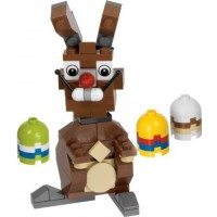 Lego Easter Bunny With Eggs