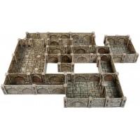 Umbum Innovative 3Dpuzzles Dungeon Basic Set 156 Pcs 15 15 2 Clever Paper