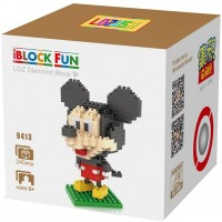 Lozusa Cartoon Character Cute Mouse 240 Pcs Diamond Block Mini Figure Hero Micro Blocks