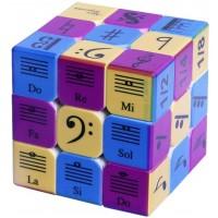 Speed Cube 3X3X3 Music Notes Design Magic Cube PuzzleIq Games Puzzles Relief Effec Gift Music