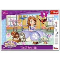 Trefl Frame Disney Sofia The First Teatime Puzzle 15