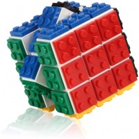 Small Fish Speed Cube Blocks Brain Teaser Puzzle And Bricks Toy In 1 Suitable Age 5 And