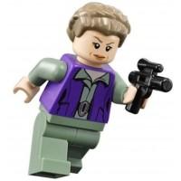 Lego Star Wars Minifigure General Princess Leia With Blaster