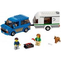 Lego City Great Vehicles Van Caravan 60117 Building