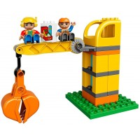 Lego Duplo Big Construction Site 10813 Building Set With Toy Dump Truck Toy Crane And Toy Bulldozer