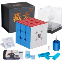 Dfantix Moyu Weilong Gts3 M 3X3 Speed Cube Magnetic Stickerless Moyu Weilong Gts 3M 3X3X3 Cube