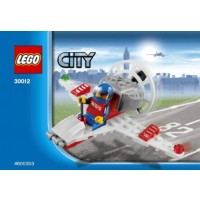 Lego City Mini Figure Set 30012 Mini Airplane