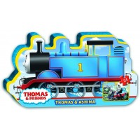 Ravensburger Thomas Friends Thomas Ashima In Train Shaped Box Floor Puzzle 24 Piece Jigsaw Puzzle
