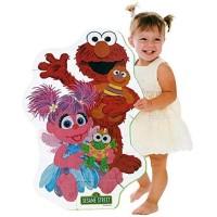 Sesame Street Elmo Big Like Me Foam Floor Puzzle W Abby