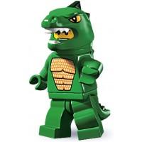 Lego Series 5 Collectible Minifigure Lizard Man Dino