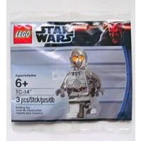 Lego Star Wars 5000063 Tc14 Promo Minifigure Silver Chrome Exclusive