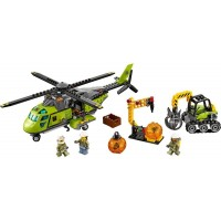 Lego City Volcano Supply Helicopter Set
